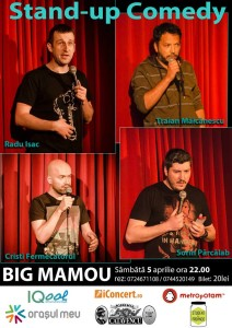 Standup comedy in Big Mamou